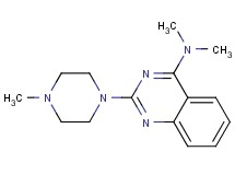 N,N-dimethyl-2-(4-methyl-1-piperazinyl)-4-quinazolinamine