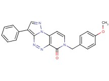 7-(4-methoxybenzyl)-3-phenylpyrazolo[5,1-c]pyrido[4,3-e][1,2,4]triazin-6(7H)-one