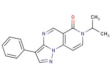 7-isopropyl-3-phenylpyrazolo[1,5-a]pyrido[3,4-e]pyrimidin-6(7H)-one