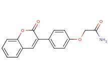 2-[4-(2-oxo-2H-chromen-3-yl)phenoxy]acetamide