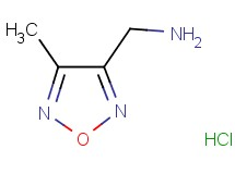 [(4-methyl-1,2,5-oxadiazol-3-yl)methyl]amine hydrochloride