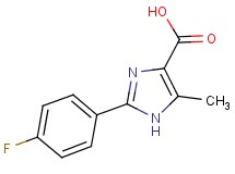 2-(4-fluorophenyl)-5-methyl-1H-imidazole-4-carboxylic acid