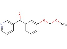 [3-(methoxymethoxy)phenyl](pyridin-3-yl)methanone