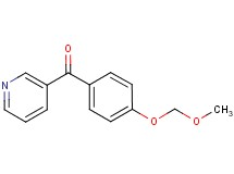 [4-(methoxymethoxy)phenyl](pyridin-3-yl)methanone