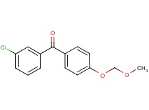 (3-chlorophenyl)[4-(methoxymethoxy)phenyl]methanone