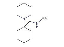 N-methyl-1-(1-piperidin-1-ylcyclohexyl)methanamine