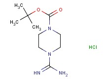 tert-butyl 4-[amino(imino)methyl]piperazine-1-carboxylate hydrochloride