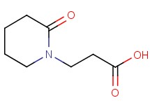 3-(2-oxopiperidin-1-yl)propanoic acid