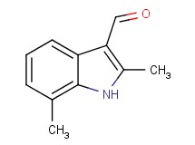 2,7-dimethyl-1H-indole-3-carbaldehyde