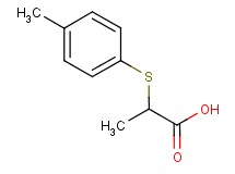2-[(4-methylphenyl)thio]propanoic acid