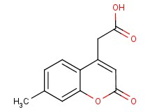 (7-methyl-2-oxo-2H-chromen-4-yl)acetic acid
