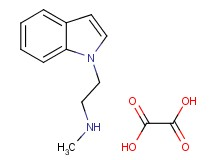 [2-(1H-indol-1-yl)ethyl]methylamine oxalate
