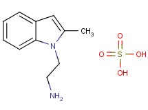 [2-(2-methyl-1H-indol-1-yl)ethyl]amine sulfate