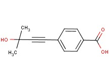 4-(3-hydroxy-3-methylbut-1-yn-1-yl)benzoic acid
