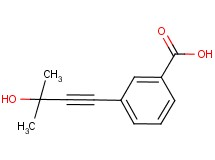 3-(3-hydroxy-3-methylbut-1-yn-1-yl)benzoic acid