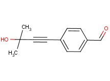 4-(3-hydroxy-3-methylbut-1-yn-1-yl)benzaldehyde