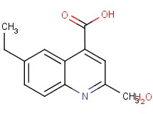 6-ethyl-2-methyl-4-quinolinecarboxylic acid hydrate
