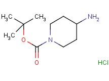 tert-butyl 4-amino-1-piperidinecarboxylate hydrochloride