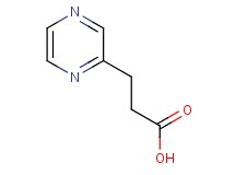 3-pyrazin-2-ylpropanoic acid