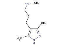 3-(3,5-dimethyl-1H-pyrazol-4-yl)-N-methylpropan-1-amine