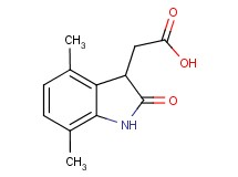 (4,7-dimethyl-2-oxo-2,3-dihydro-1H-indol-3-yl)acetic acid