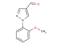 1-(2-methoxyphenyl)-1H-pyrazole-4-carbaldehyde