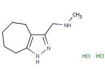 (1,4,5,6,7,8-hexahydrocyclohepta[c]pyrazol-3-ylmethyl)methylamine dihydrochloride