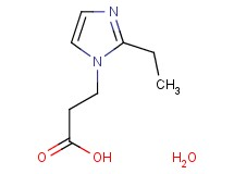 3-(2-ethyl-1H-imidazol-1-yl)propanoic acid hydrate