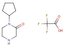 1-cyclopentyl-2-piperazinone trifluoroacetate