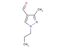 3-methyl-1-propyl-1H-pyrazole-4-carbaldehyde