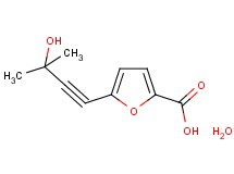 5-(3-hydroxy-3-methyl-1-butyn-1-yl)-2-furoic acid hydrate