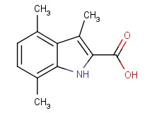 3,4,7-trimethyl-1H-indole-2-carboxylic acid