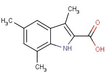 3,5,7-trimethyl-1H-indole-2-carboxylic acid