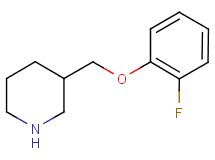 3-[(2-fluorophenoxy)methyl]piperidine