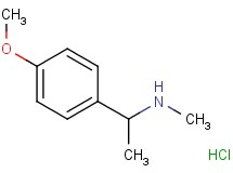 [1-(4-methoxyphenyl)ethyl]methylamine hydrochloride