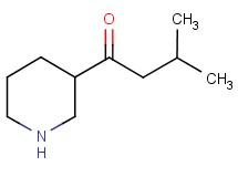 3-methyl-1-piperidin-3-ylbutan-1-one