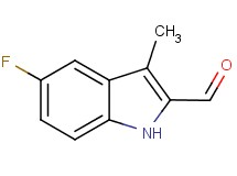 5-fluoro-3-methyl-1H-indole-2-carbaldehyde