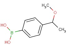 [4-(1-methoxyethyl)phenyl]boronic acid