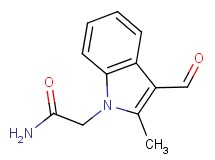 2-(3-formyl-2-methyl-1H-indol-1-yl)acetamide