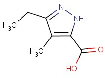 3-ethyl-4-methyl-1H-pyrazole-5-carboxylic acid