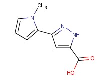 3-(1-methyl-1H-pyrrol-2-yl)-1H-pyrazole-5-carboxylic acid