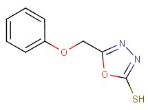 5-(phenoxymethyl)-1,3,4-oxadiazole-2-thiol