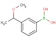 [3-(1-methoxyethyl)phenyl]boronic acid