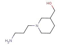 [1-(3-aminopropyl)piperidin-3-yl]methanol