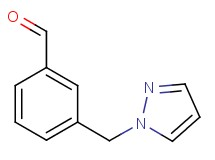 3-(1H-pyrazol-1-ylmethyl)benzaldehyde
