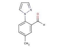5-methyl-2-(1H-pyrazol-1-yl)benzaldehyde
