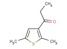 1-(2,5-dimethyl-3-thienyl)propan-1-one