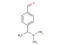 4-[1-(dimethylamino)ethyl]benzaldehyde