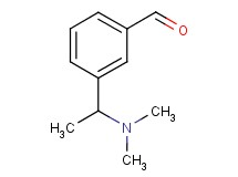 3-[1-(dimethylamino)ethyl]benzaldehyde
