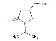 4-(hydroxymethyl)-1-isopropylpyrrolidin-2-one